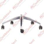 Base metálica para sillas giratorias